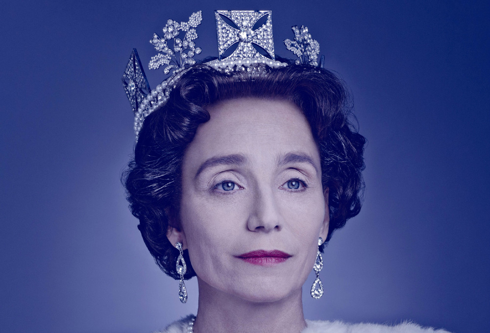 Kristin-Scott-Thomas-as-The-Queen-The-Audience-Photo-credit-Jason-Bell-cut