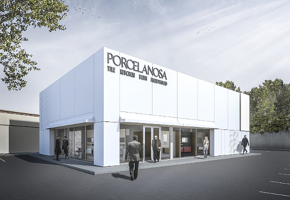 Porcelanosa First KRION Solid Surface Building In The U S  - The