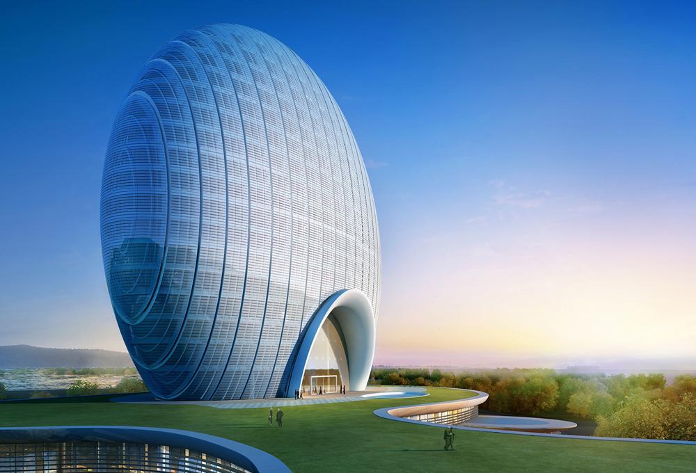 Las esferas m s espectaculares the luxonomist for Edificios educativos arquitectura