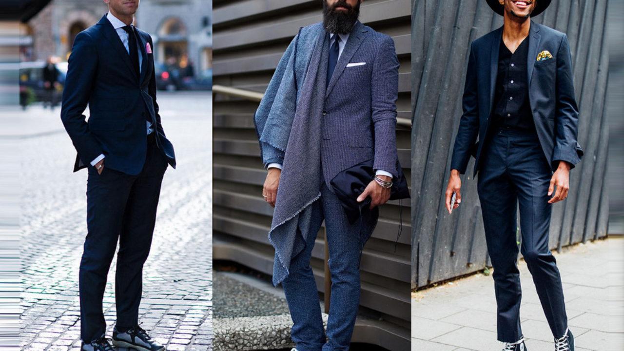 3ecc1a323 Lo último en Wall Street: traje con sneakers - The Luxonomist