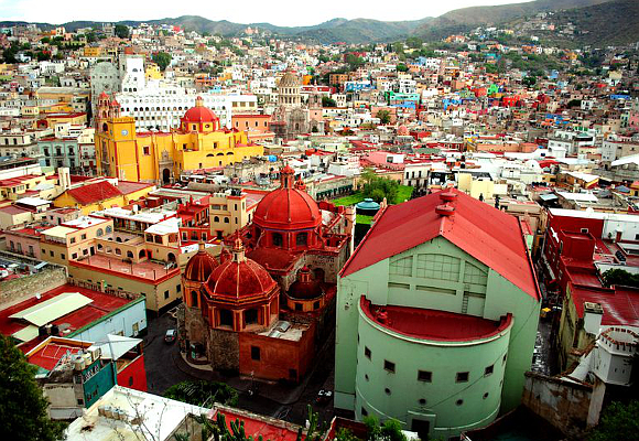 ciudades más coloridas guanajuato