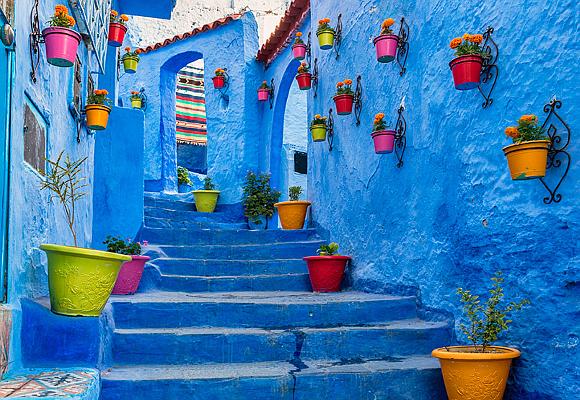 ciudades más coloridas marruecos