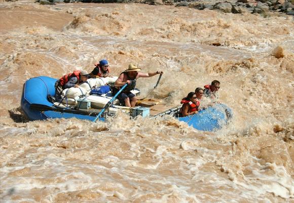 gran cañon rio colorado rafting