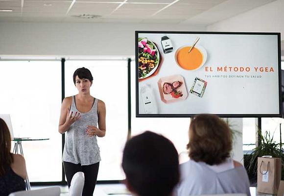Izanami Martínez enYgea Wellness School