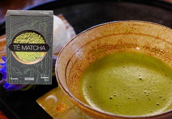 té matcha hacendado