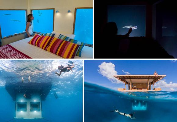 habitación submarina v