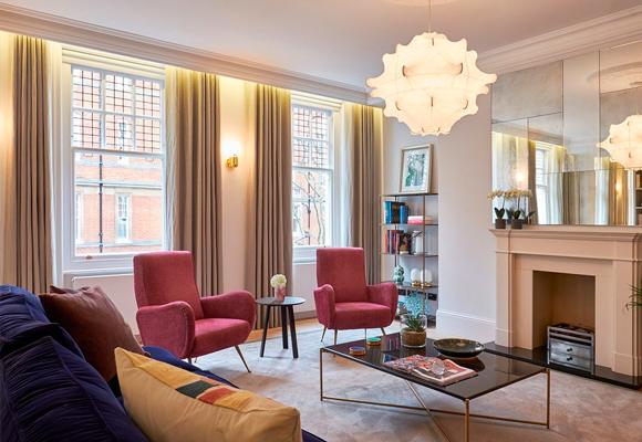 Cuatro apartamentos de lujo para celebrar la navidad - Apartamentos lujo londres ...