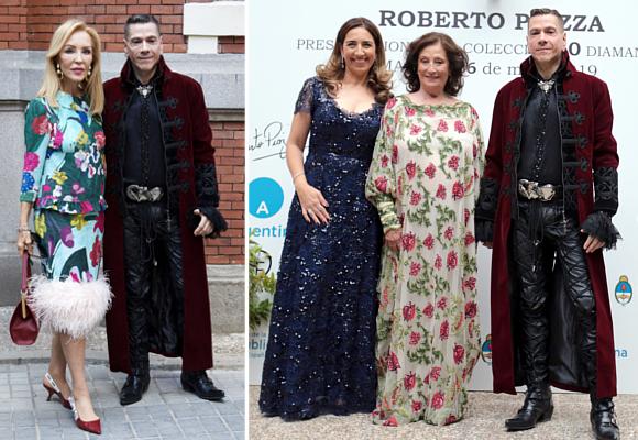 Roberto Piazza trae a Madrid la moda que seduce a la realeza europea