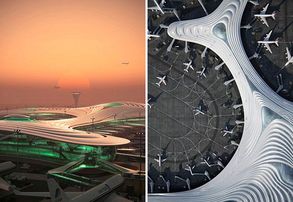 Los aeropuertos del futuro ya están diseñados