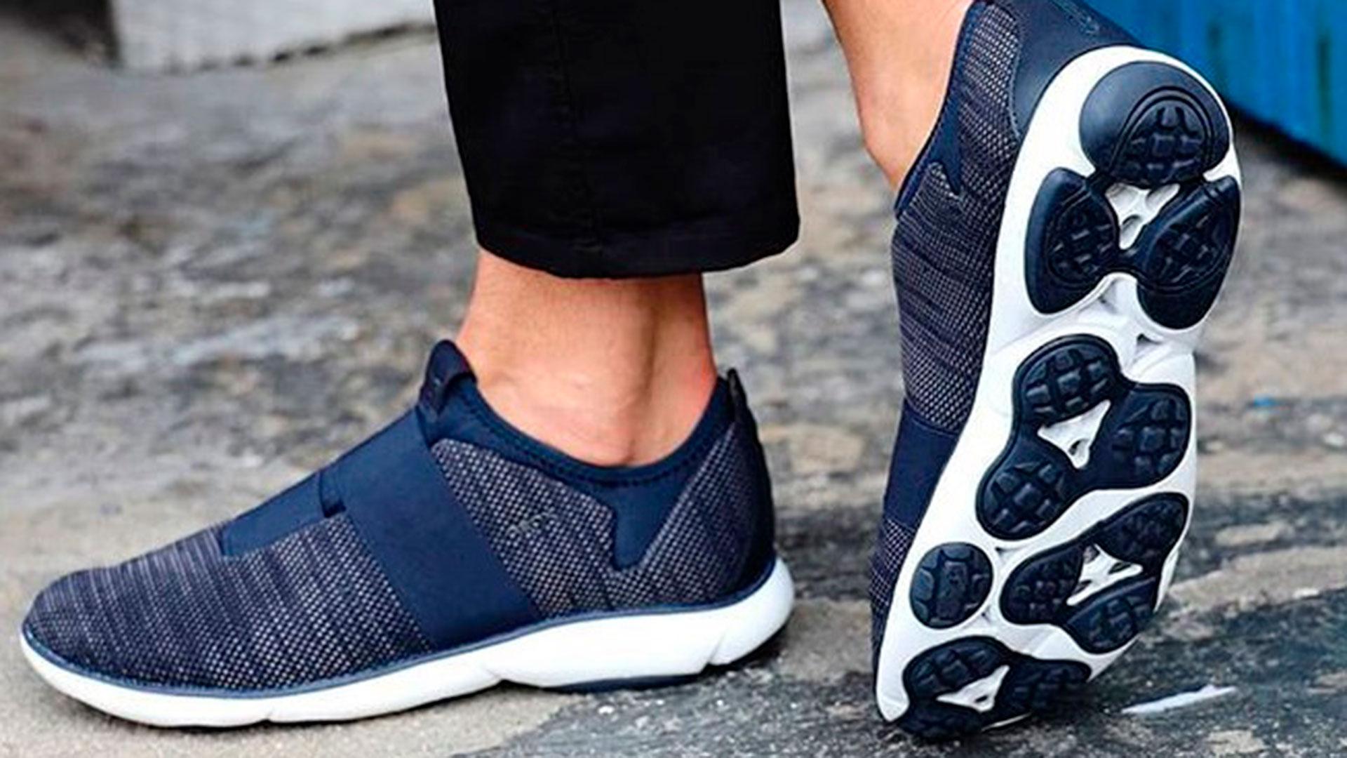 Chimenea muestra Canal  Geox, un calzado cómodo, transpirable e impermeable para el verano