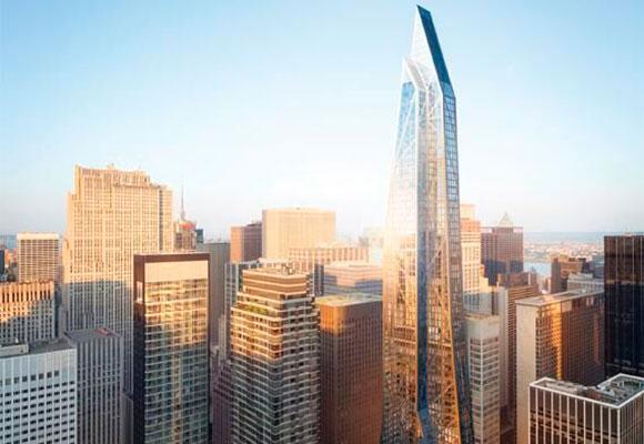 Un rascacielos hecho a la medida de Nueva York