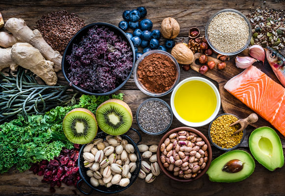 alimentos comida vida sana