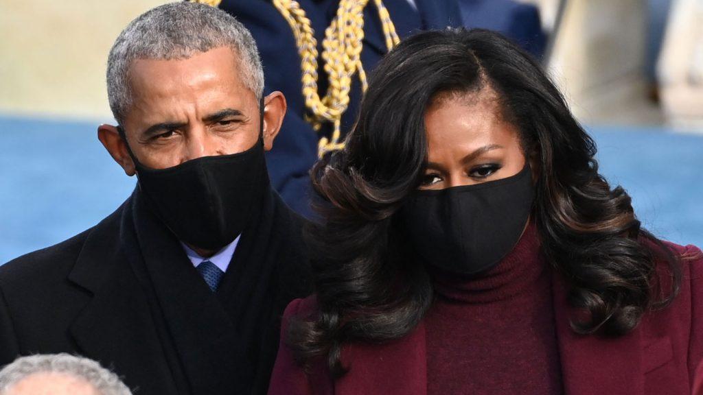 Barack y Michelle Obama investidura Biden