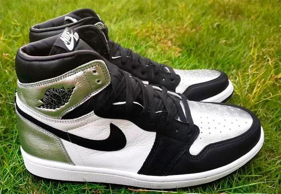 Air Jordan Silver Toe