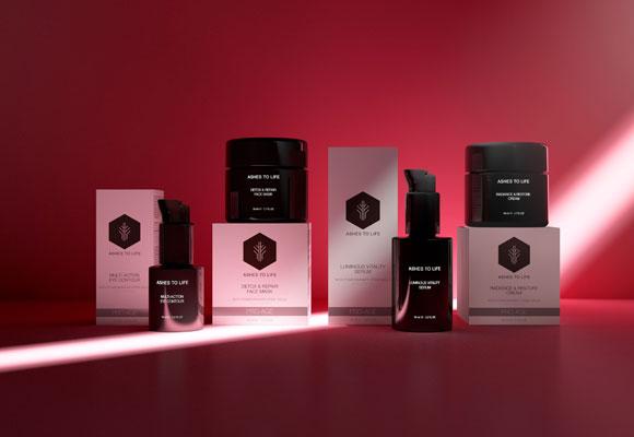 Nueva línea cosmética ecololica ashes to life