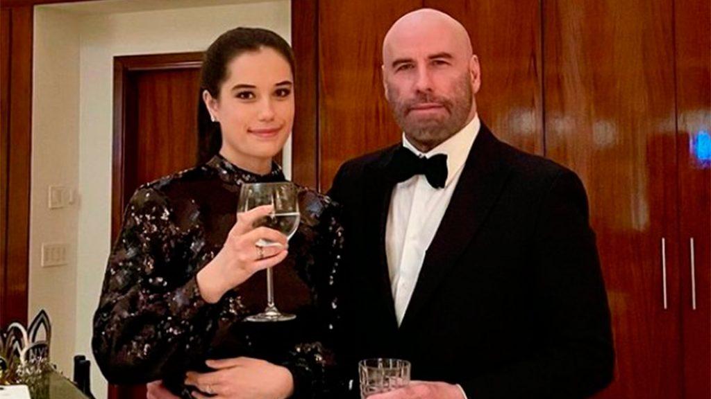John Travolta y su hija Ella