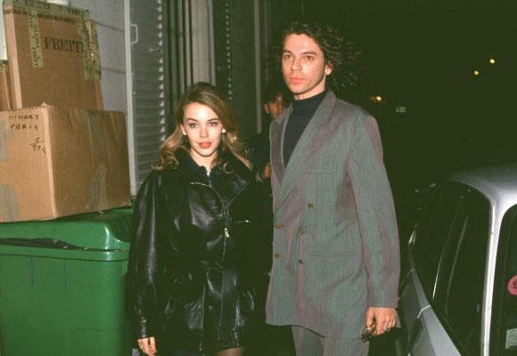 Kylie Minogue y Michael Hutchence