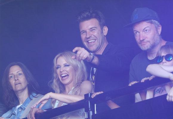Kylie Minogue Pau Solomons