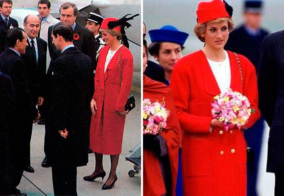 Lady Di París 1988
