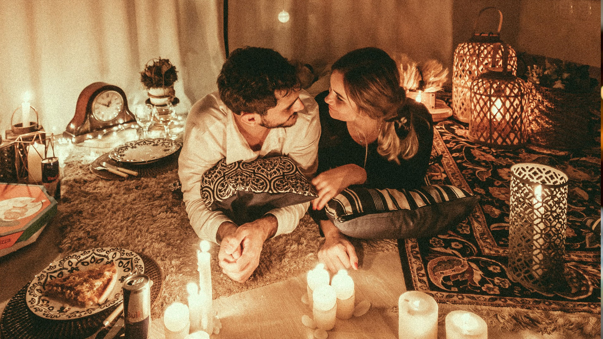 pareja amor san valentin