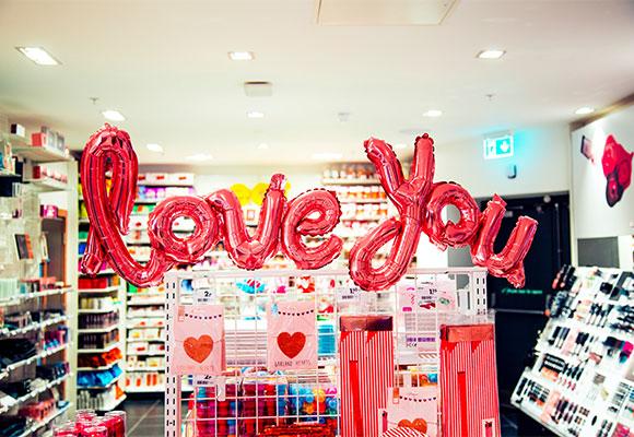 tienda San Valentín