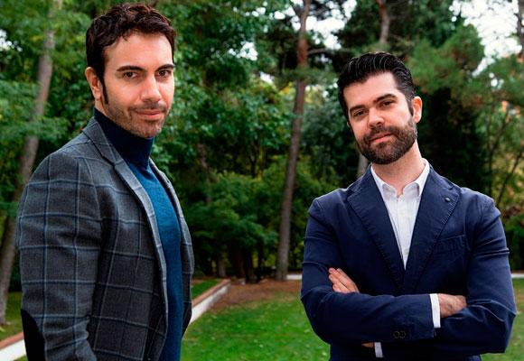 Alberto Herrera con Luis A. Zamora