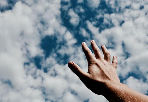 cielo mano esperanza