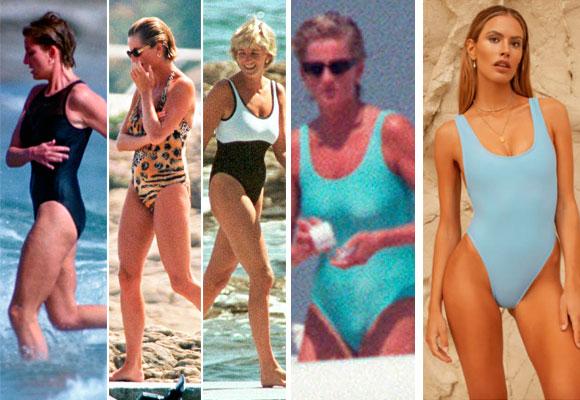 Lady Diana bañador