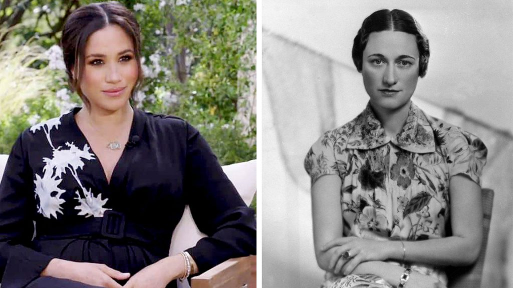 Meghan Markle y Wallis Simpson