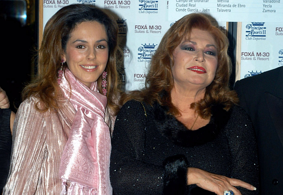 Rocío Carrasco y Rocío Jurado
