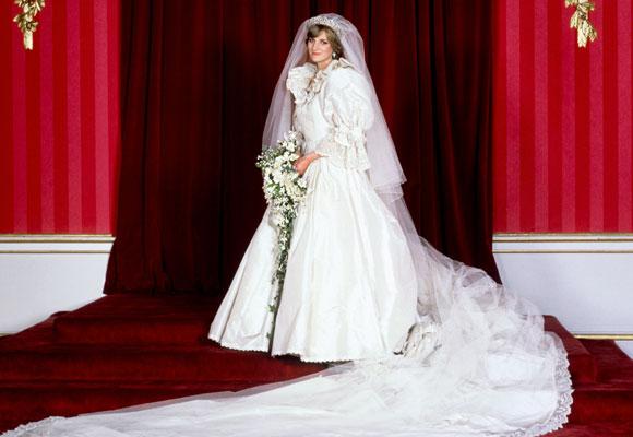 Diana de Gales vestido novia