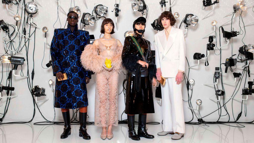 Gucci y Balenciaga