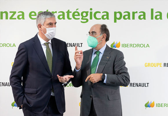Ignacio Galan iberdrola renault