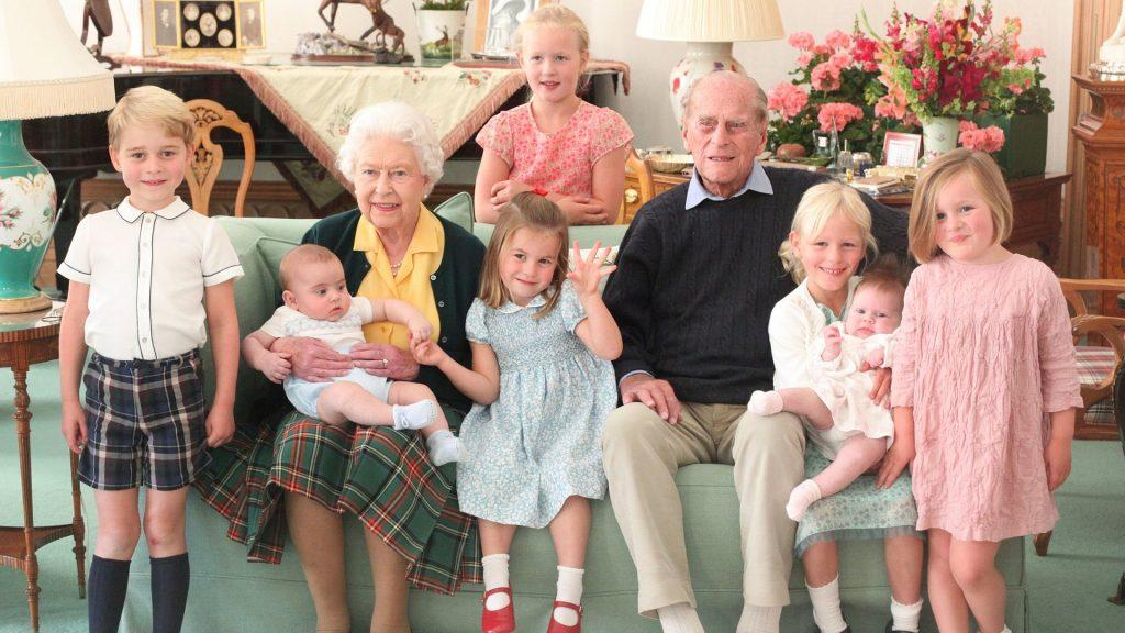 familia duque de Edimburgo