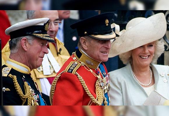 Felipe de Edimburgo Príncipe Carlos