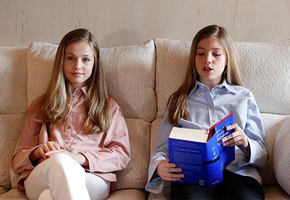 Leonor y Sofía