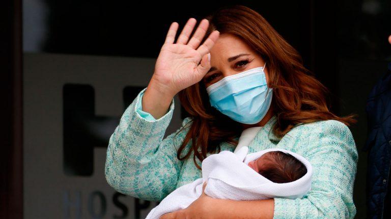 Paula Echevarria bebe
