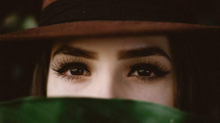 ojo pestañas mirada