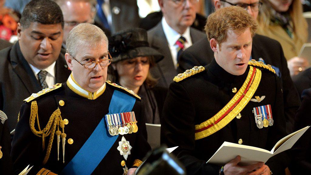Felipe de Edimburgo Harry y Andrés