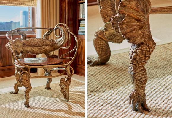 silla cocodrilo