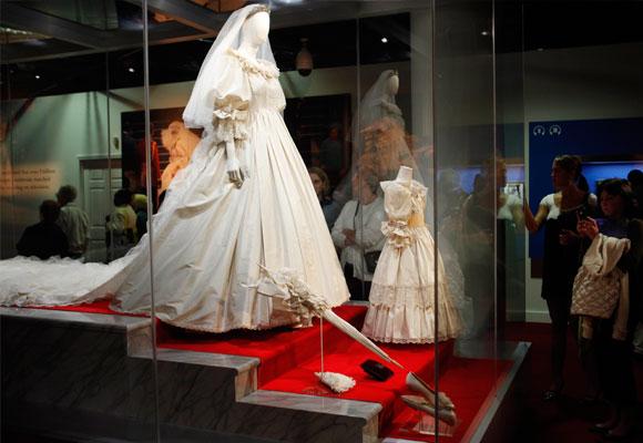 vestido novia Diana de Gales