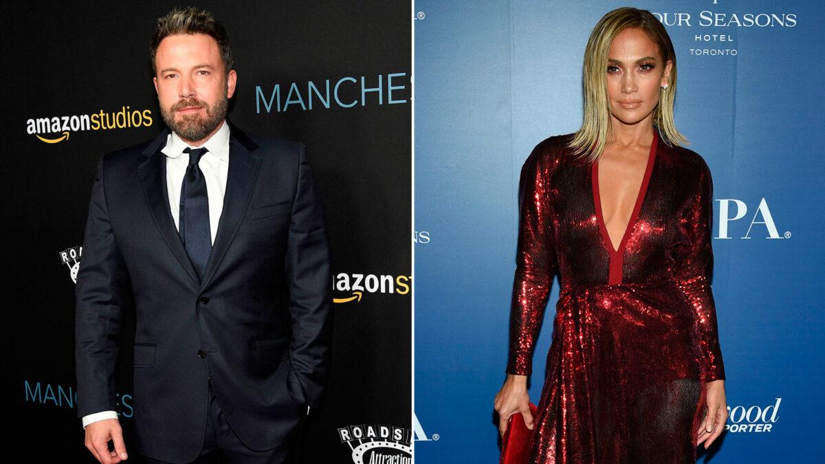 Be Affleck y Jennifer Lopez