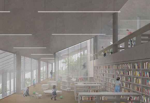 biblioteca corea