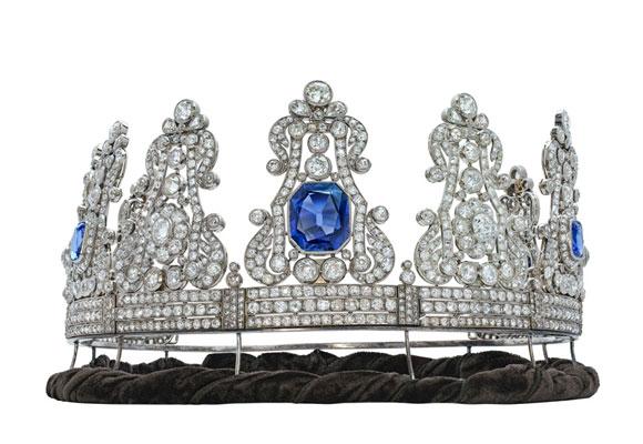corona reina napoleon