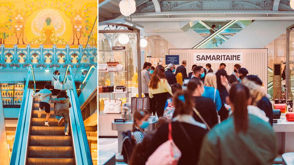 galerías Samaritaine Paris Pont-Neuf