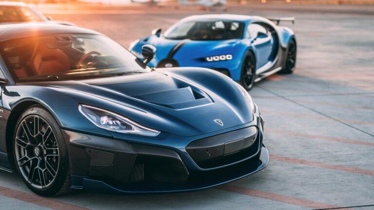 Bugatti y Rimac