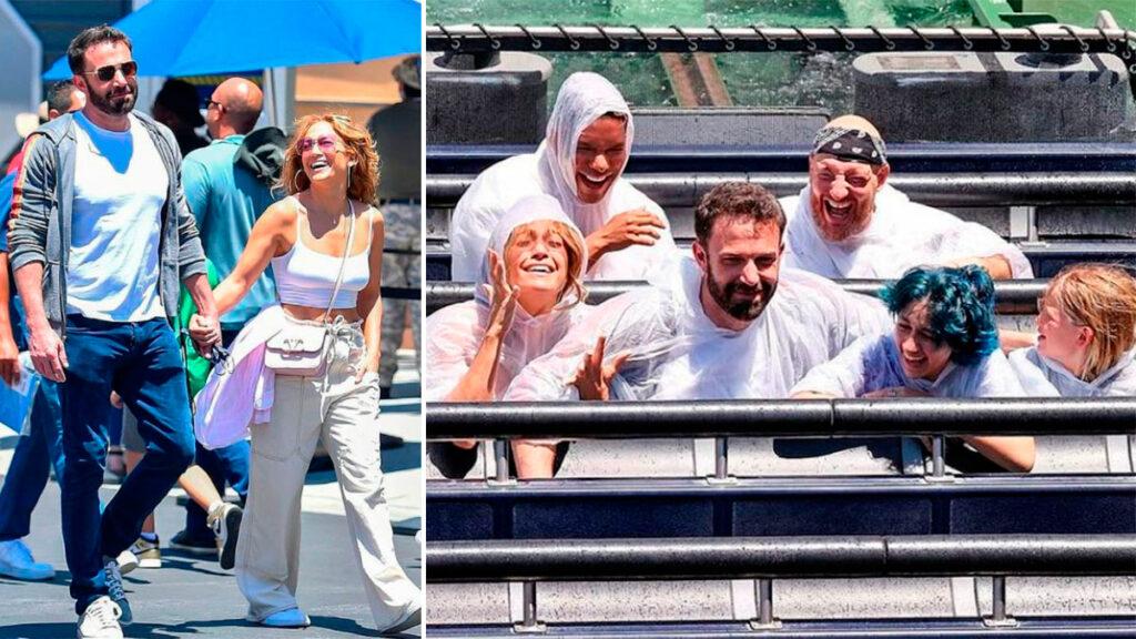 Jennifer Lopez y Ben Affleck hijos