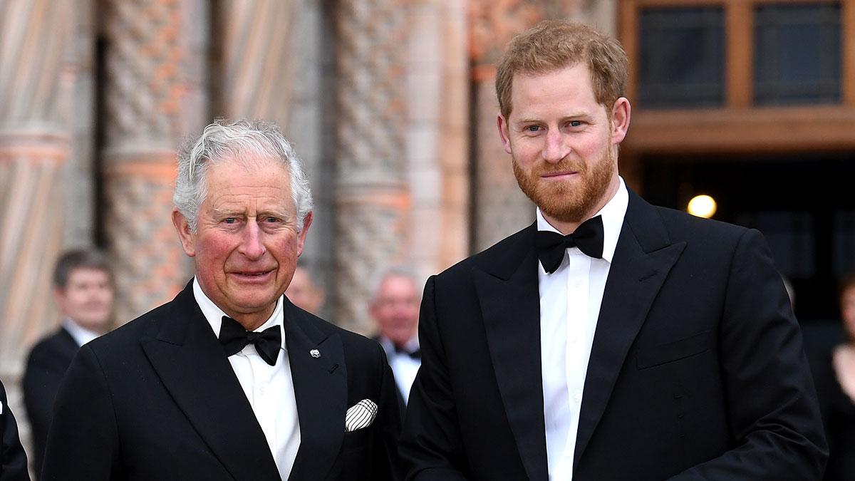 Príncipe Carlos y Harry
