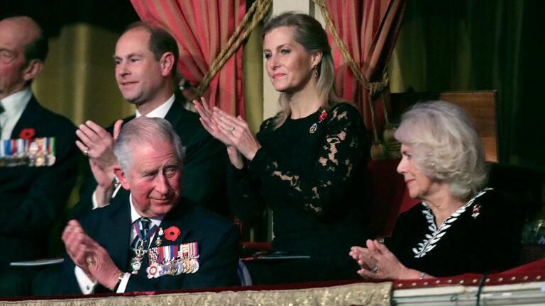 Príncipe Carlos y príncipe Eduardo