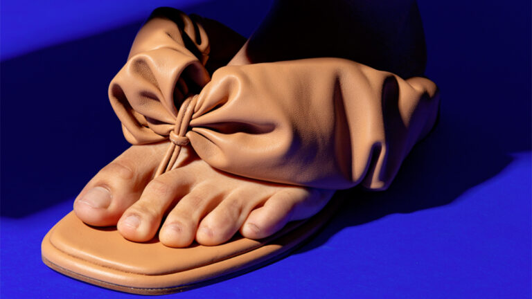 sandalias scrunchie